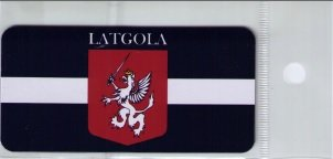 Flag of Latgale - photomagnet