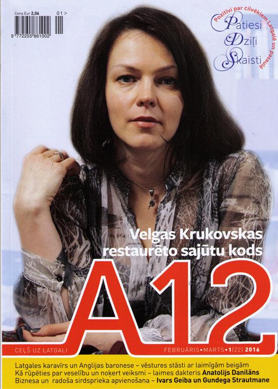 A12 (februāris, marts 2016; Nr. 22)