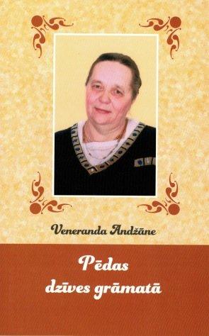 Andžāne Veneranda Pēdas dzīves grāmatā