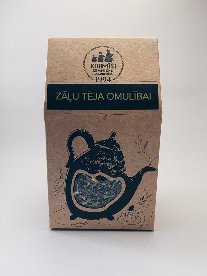 Zāļu tēja omulībai