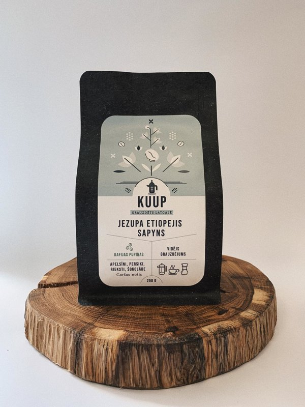 Kafija Jezupa Etiopejis Sapyns 250g (samalta)