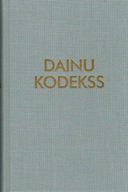 Kursīte Janīna Dainu kodekss
