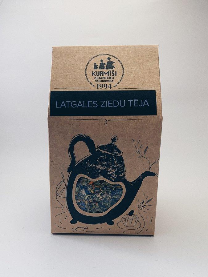 Latgales ziedu tēja