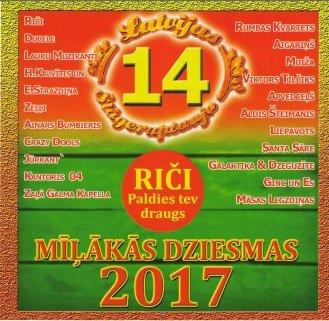 Mīļākās dziesmas 2017 (Latvijas šlāgeraptaujas izlase Nr. 14)