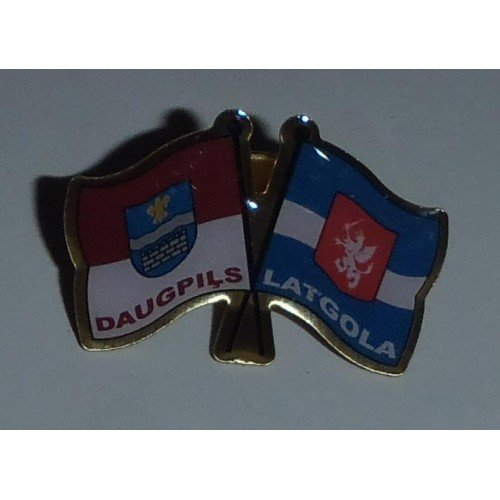 Flags of Latgola/Daugavpils - badge