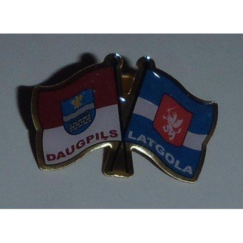 Latgales/Daugavpils karogs - nozīmīte
