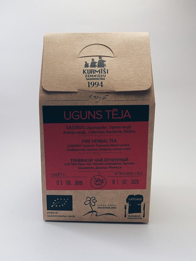 Uguns tēja