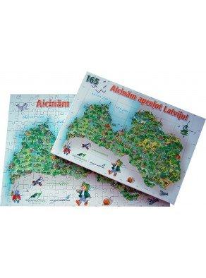 Puzzle - Apceļo Latviju