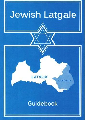 Rochko Josif Jewish Latgale (guidebook)
