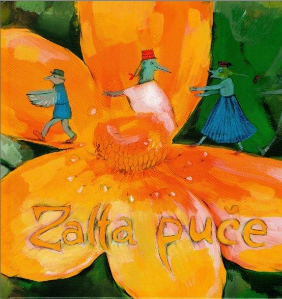 Saliete Ieva Zalta puče - dzīduošonys gruomota saimei (gruomota i CD)