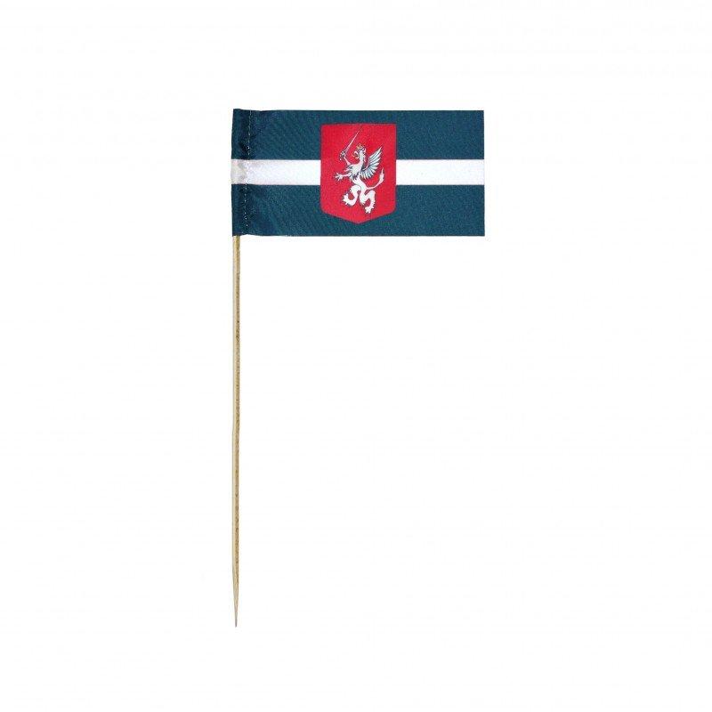 Latgales karogs, rokas, 5x10cm