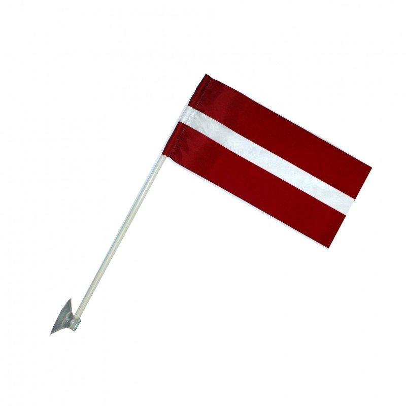 Latvijas karogs (ar lipekli)