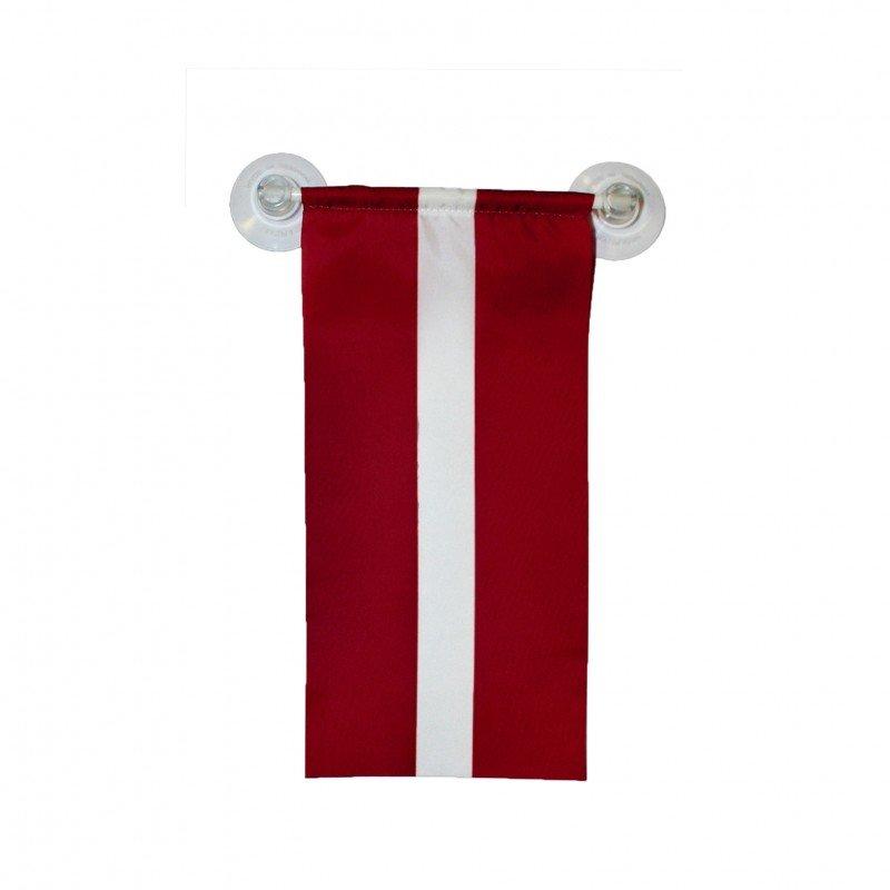 Die Lettland Flagge