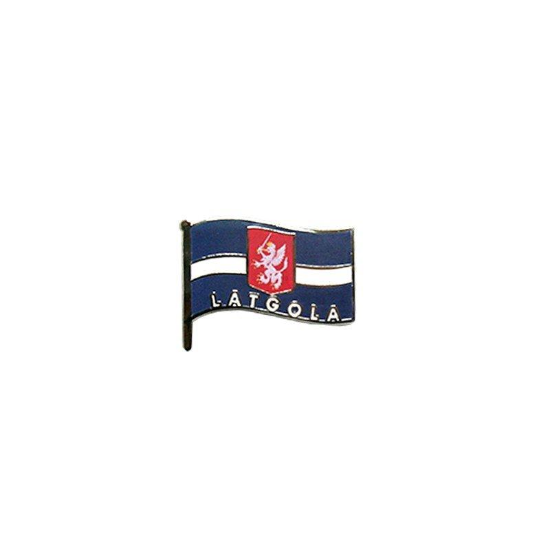 Nozīmīte Latgales karogs