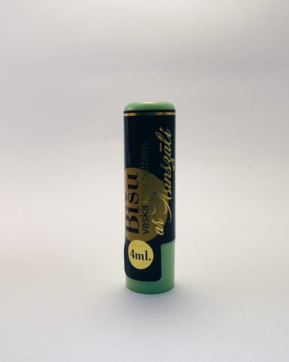 Bišu vaska lūpu balzāms ar asinszāles ekstraktu